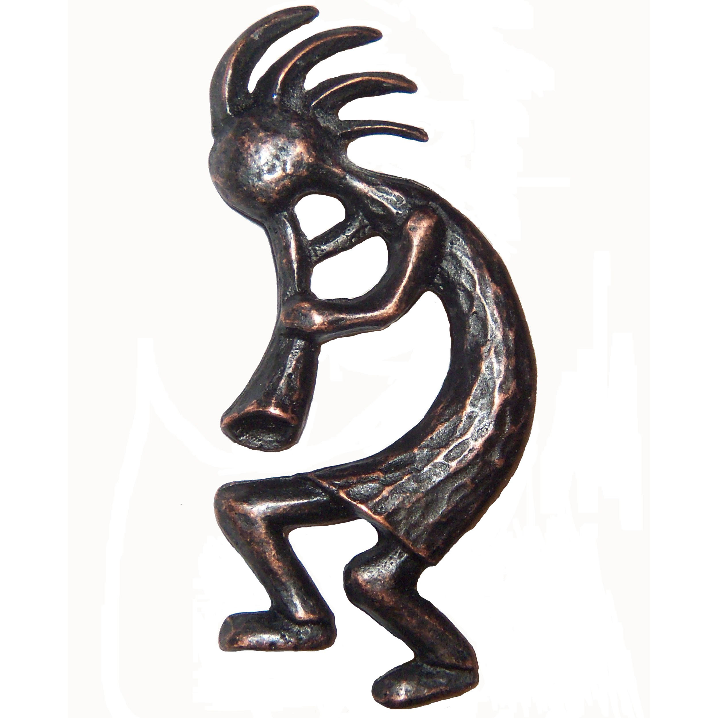 Kokopelli Pull Left Facing, Oil Rubbed Bronze, Model 265ORB