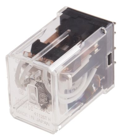 Panasonic , 12V dc Coil Non-Latching Relay 4PDT, 5A Switching Current PCB Mount