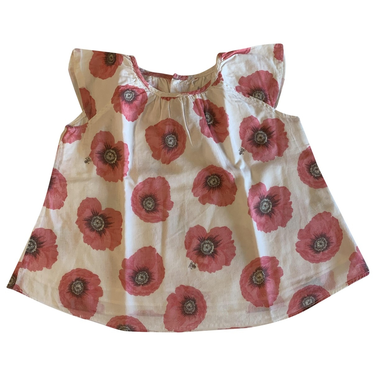 Kenzo - Top   pour enfant en coton - rouge