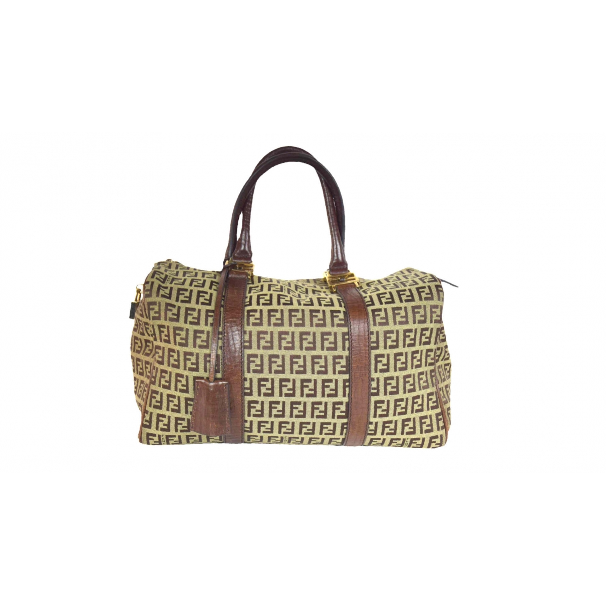 Fendi \N Brown Cloth handbag for Women \N