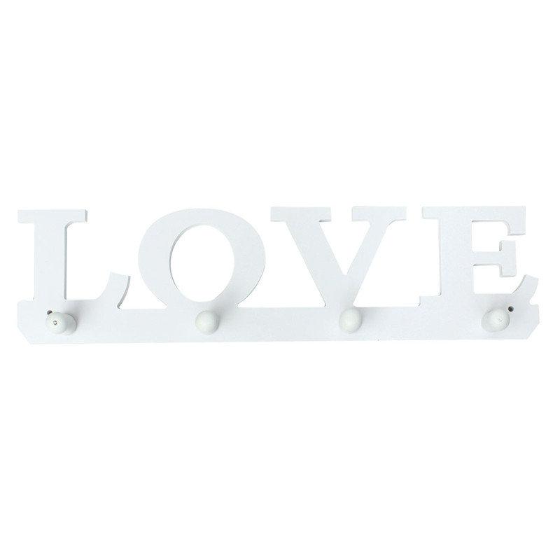 Creative Vintage White LOVE Clothes Holder Sundries Hanger
