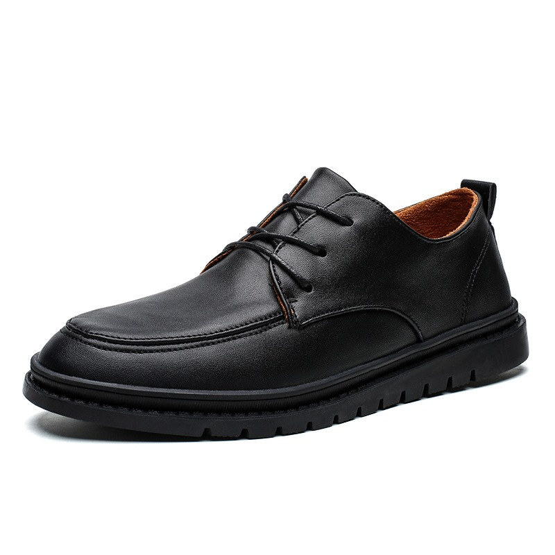 Ericdress Low-Cut Upper PU Men's Leather Shoes