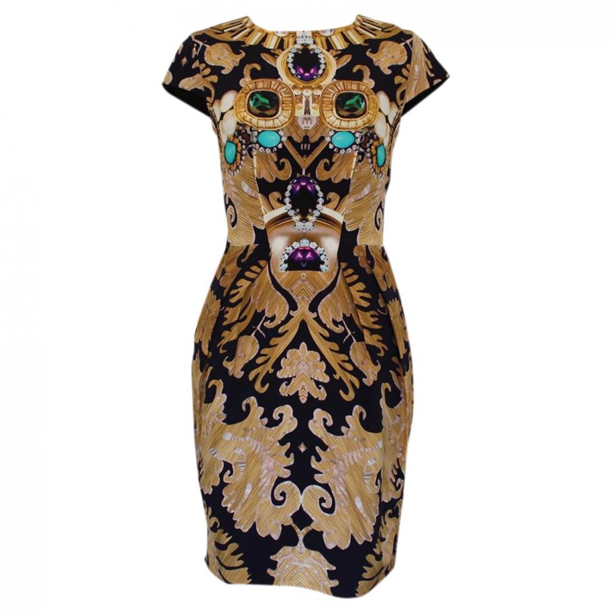 Mary Katrantzou \N Multicolour Silk dress for Women 40 IT