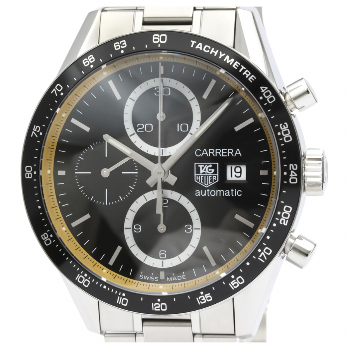Tag Heuer Carrera Uhr in  Silber Stahl