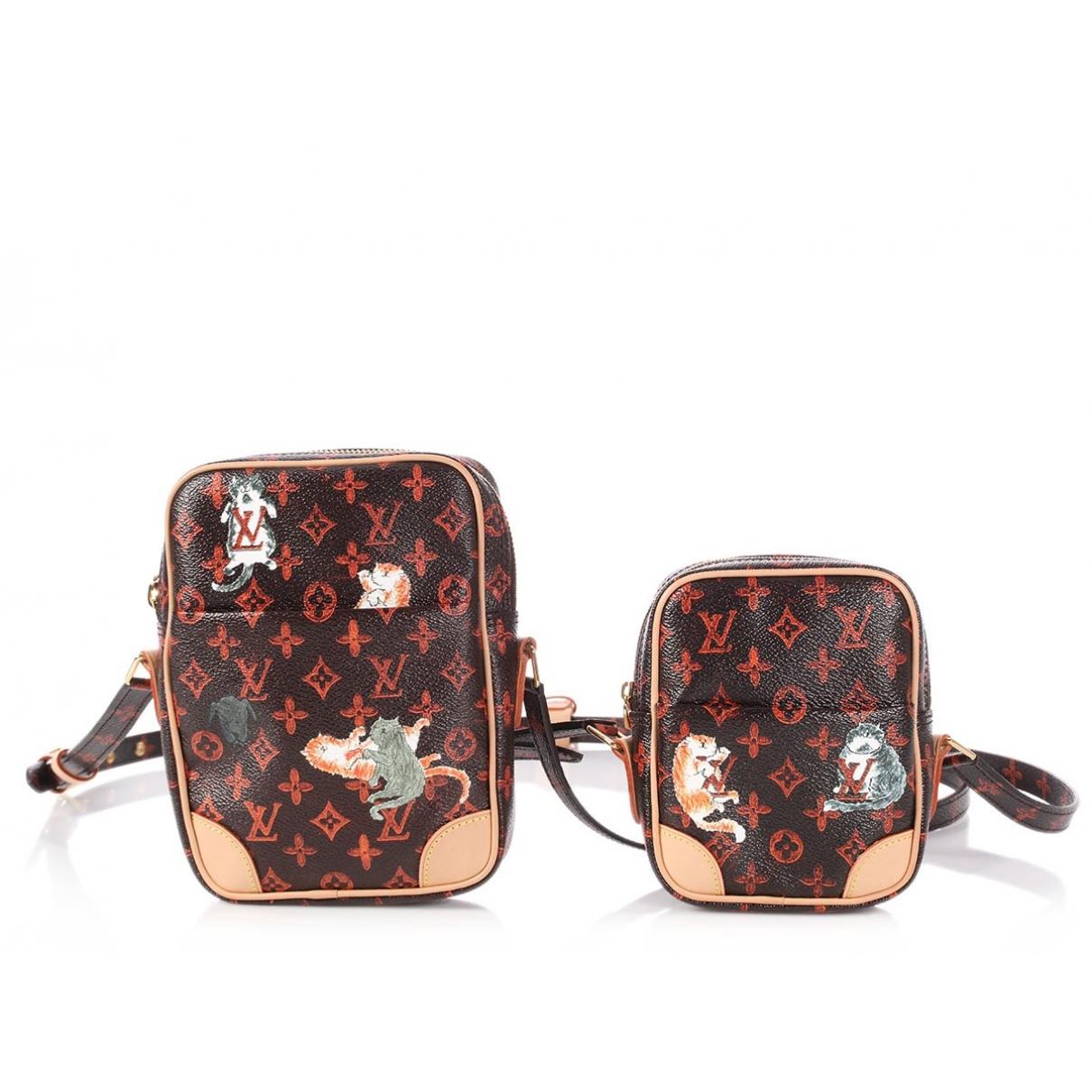 Louis Vuitton Paname set Brown Cloth handbag for Women \N
