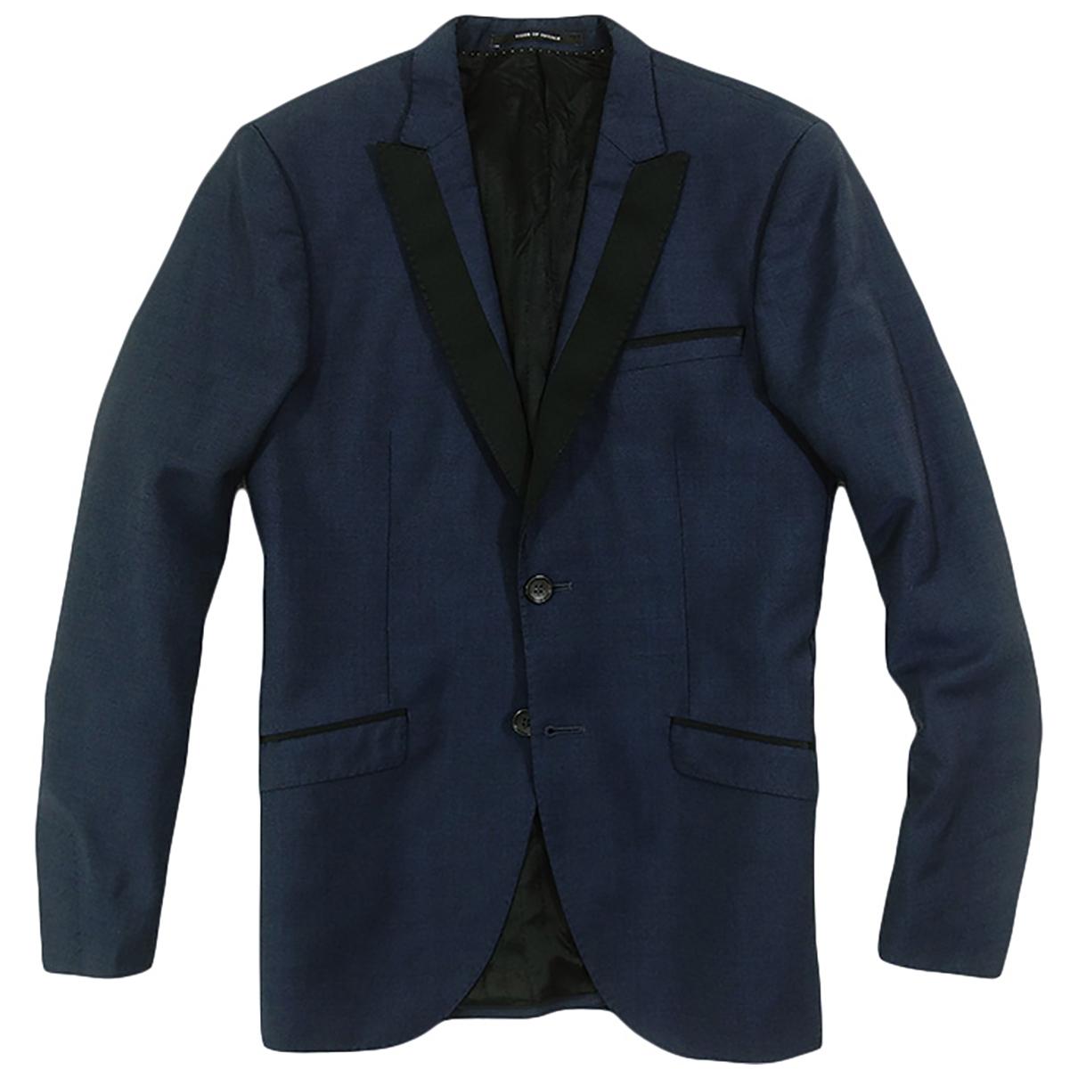 Tiger Of Sweden \N Navy Wool jacket  for Men 46 IT