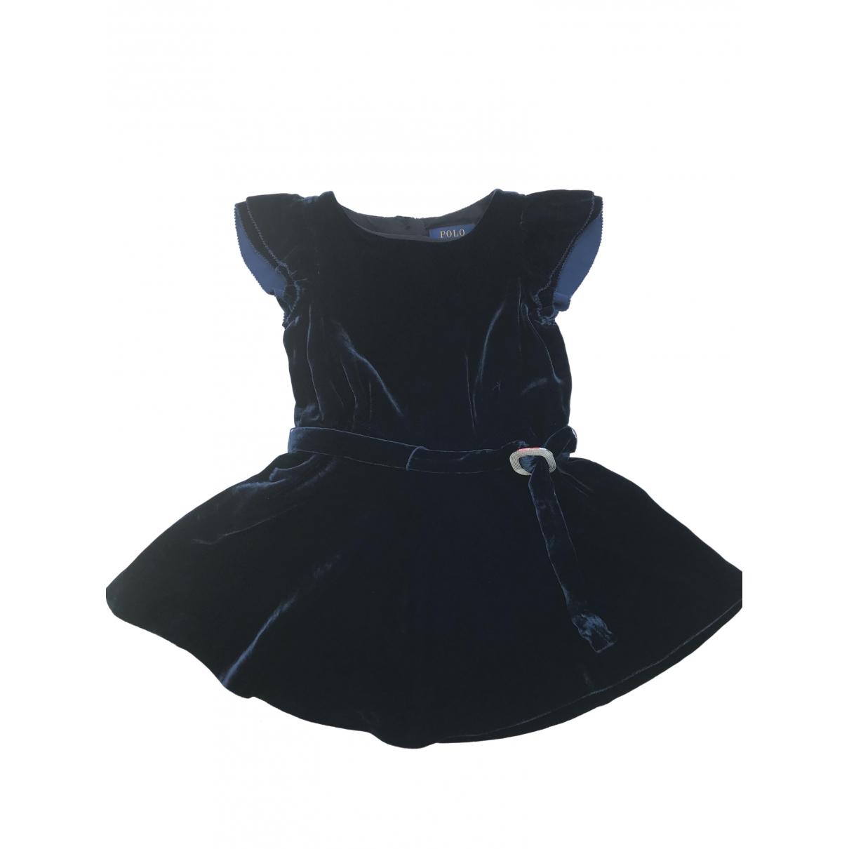 Mini vestido de Terciopelo Polo Ralph Lauren