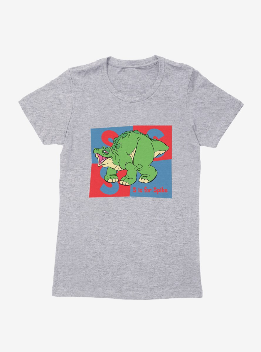 The Land Before Time S Is For Spike Womens T-Shirt