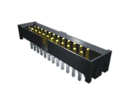 Samtec , STMM, 2 Row, Straight PCB Header (22)
