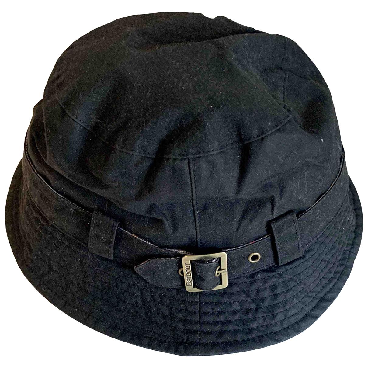 Barbour \N Black Cotton hat for Women S International