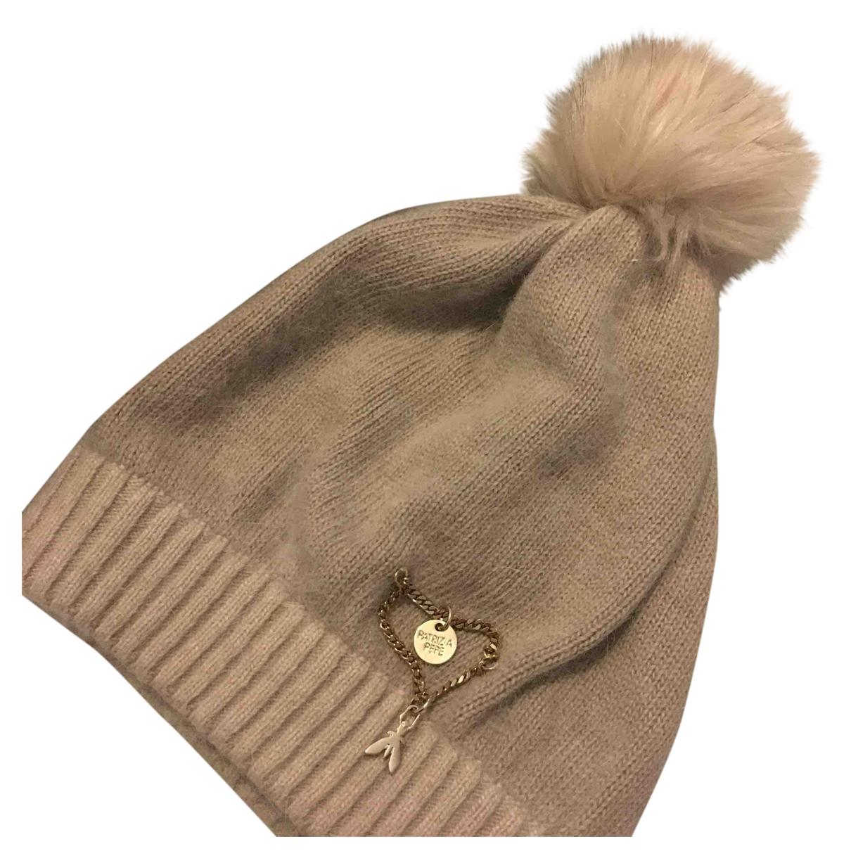 Patrizia Pepe - Chapeau   pour femme en laine - beige