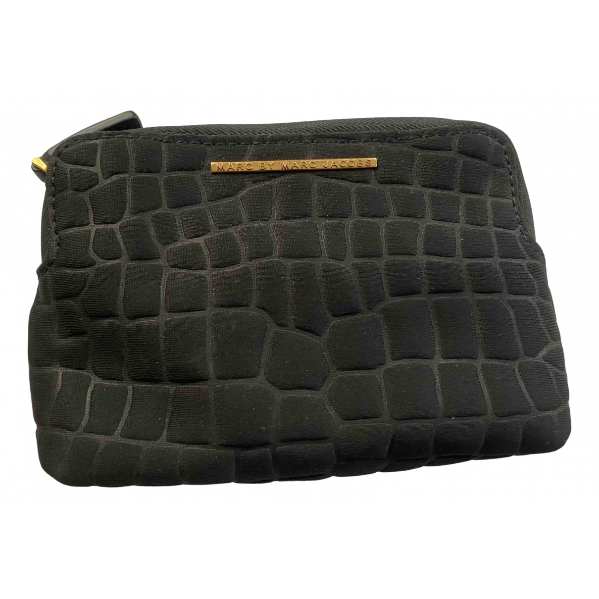 Marc By Marc Jacobs \N Clutch in  Schwarz Polyester