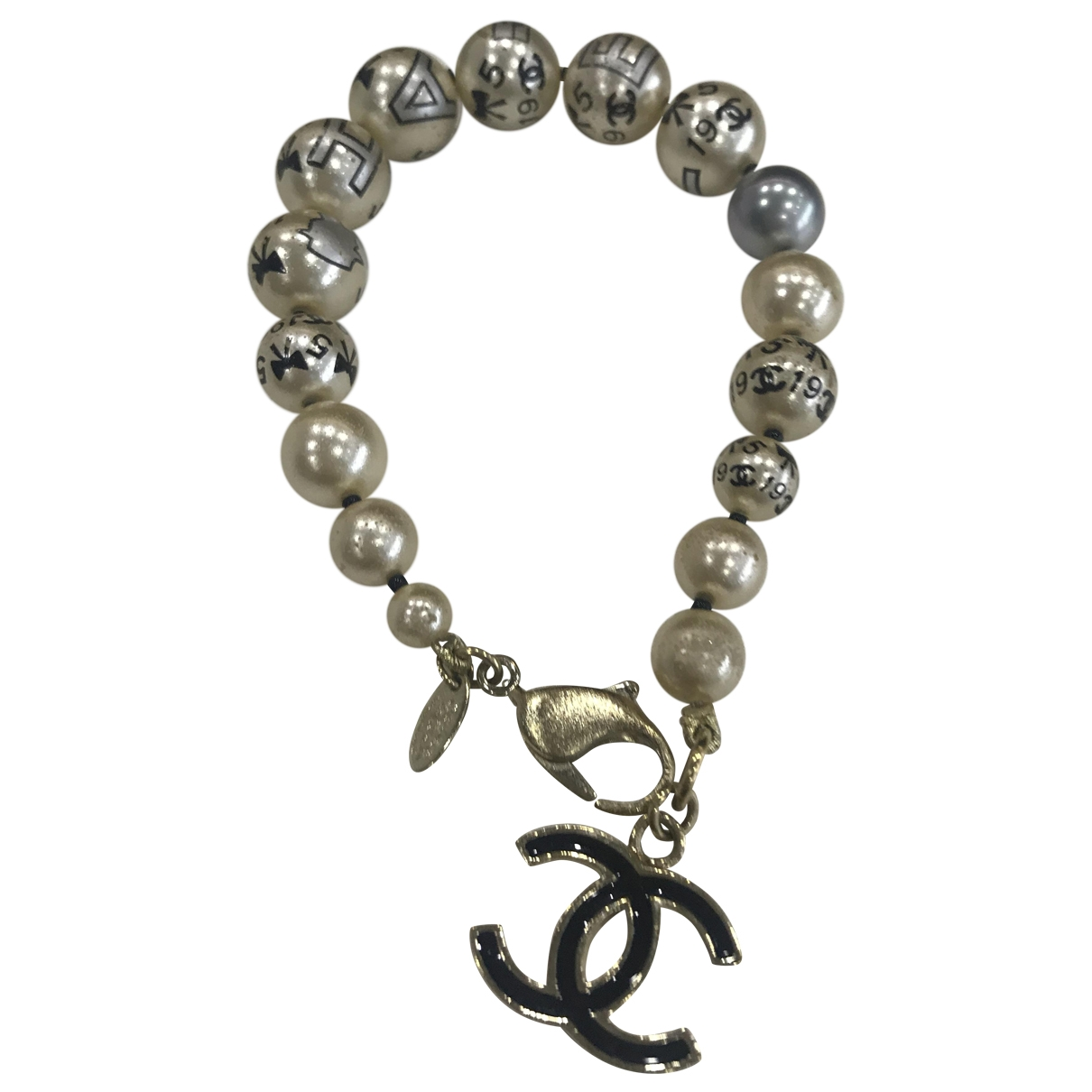 Chanel CC Armband in  Bunt Metall