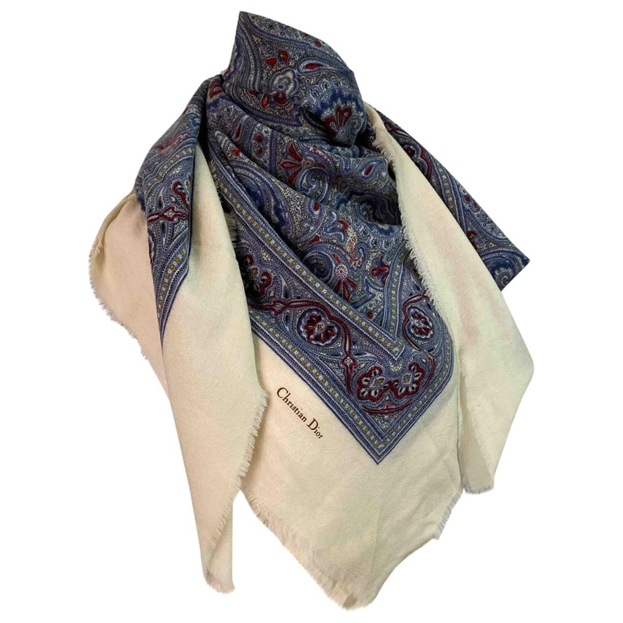 Dior \N Multicolour Wool scarf for Women \N