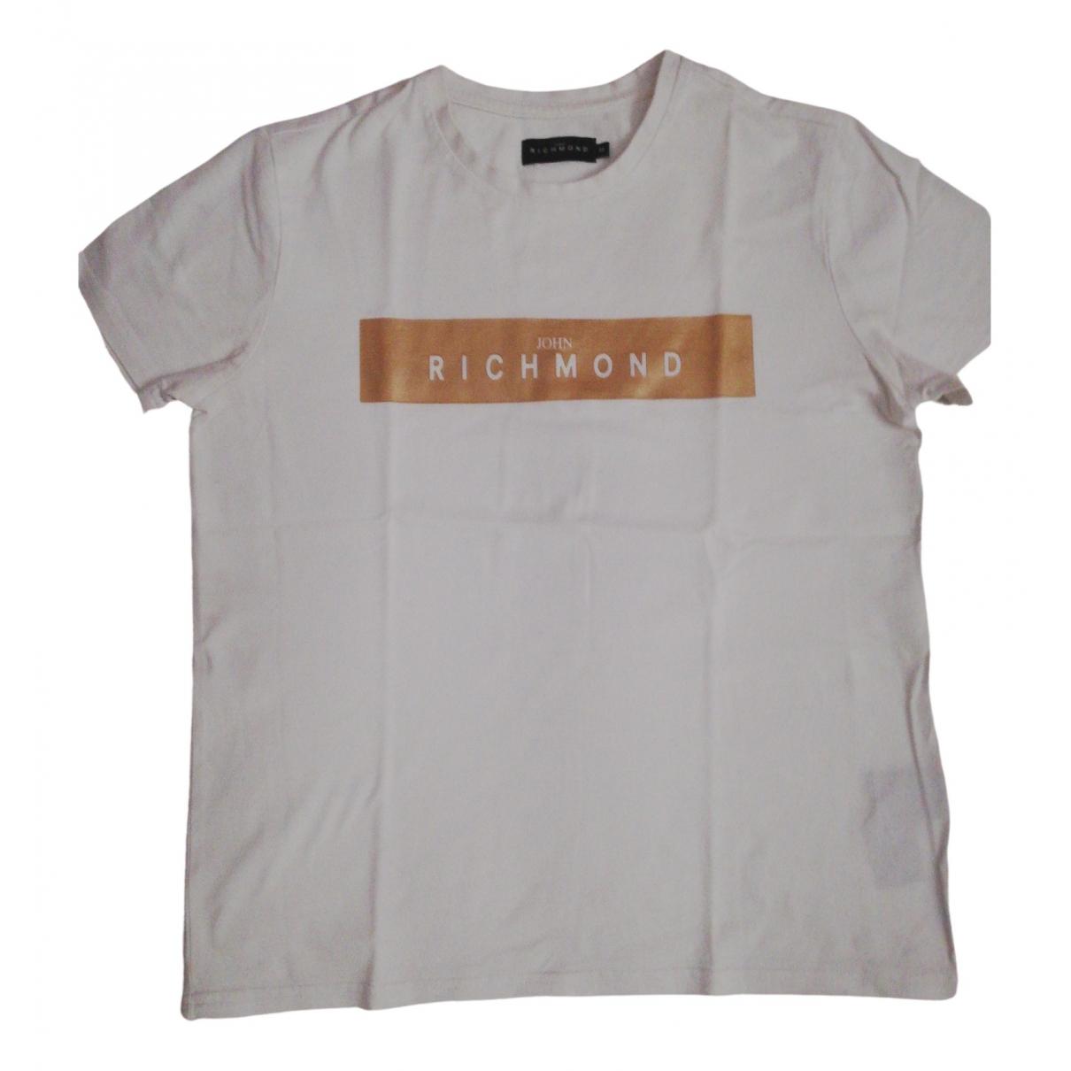 John Richmond - Top   pour enfant en coton - blanc