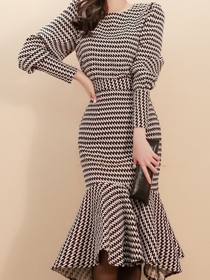 Ericdress Casual Color Block Round Neck Pullover Two Piece Sets