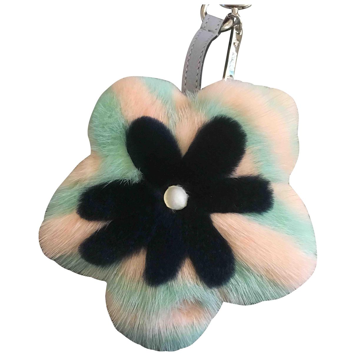 Fendi - Bijoux de sac   pour femme en vison - multicolore