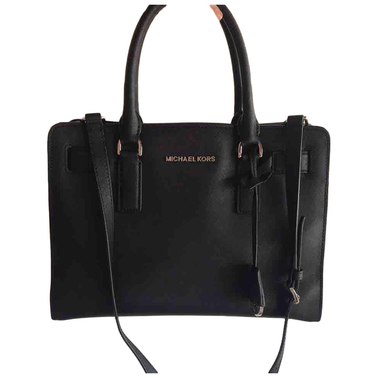 Michael Kors Dillon Black Leather handbag for Women N