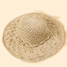 Sombrero de paja simple