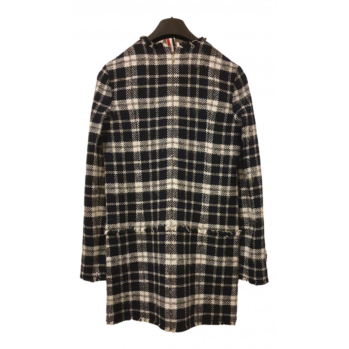 Thom Browne \N Kleid in  Grau Wolle