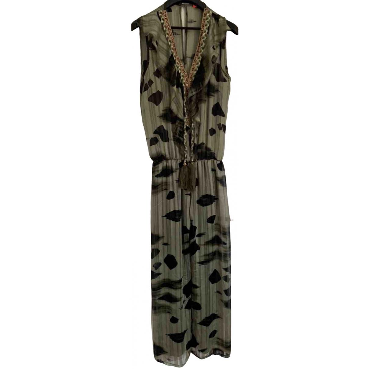 Non Signé / Unsigned \N Khaki jumpsuit for Women 38 FR
