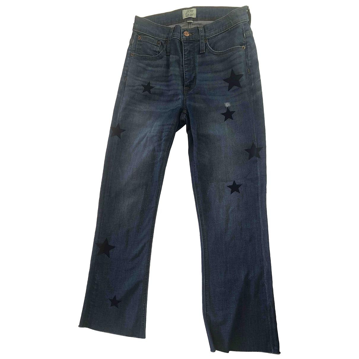 J.crew \N Blue Cotton Jeans for Women 26 US