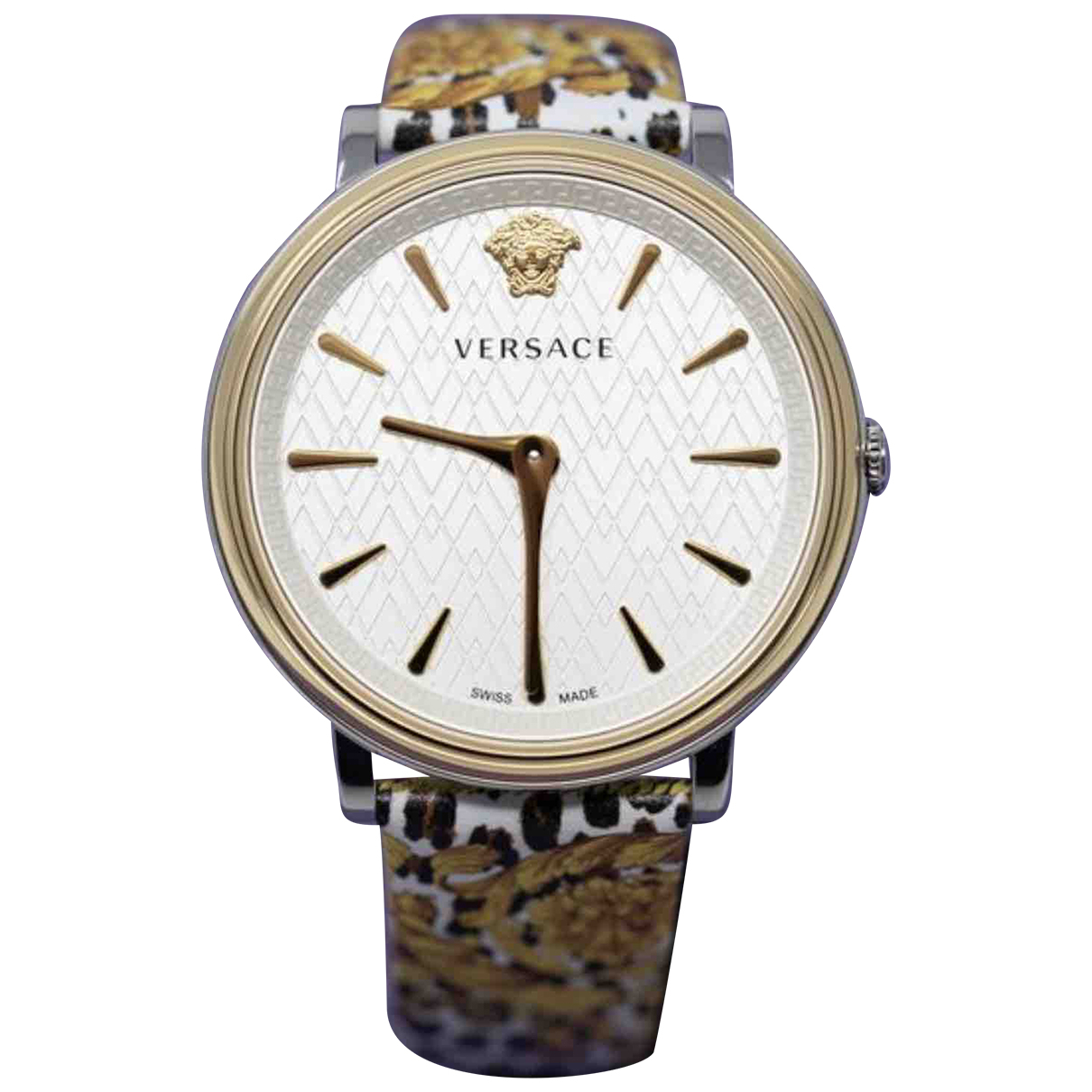 Versace \N Uhr in  Bunt Stahl