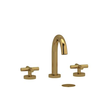 Riu RU08+BG 8 Lavatory Faucet with Cross Handles 1.5 GPM  in Brushed