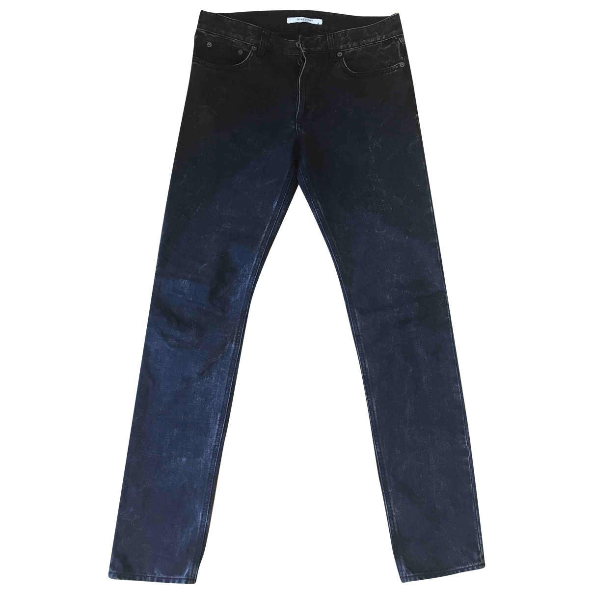 Givenchy \N Black Cotton Jeans for Men 31 US