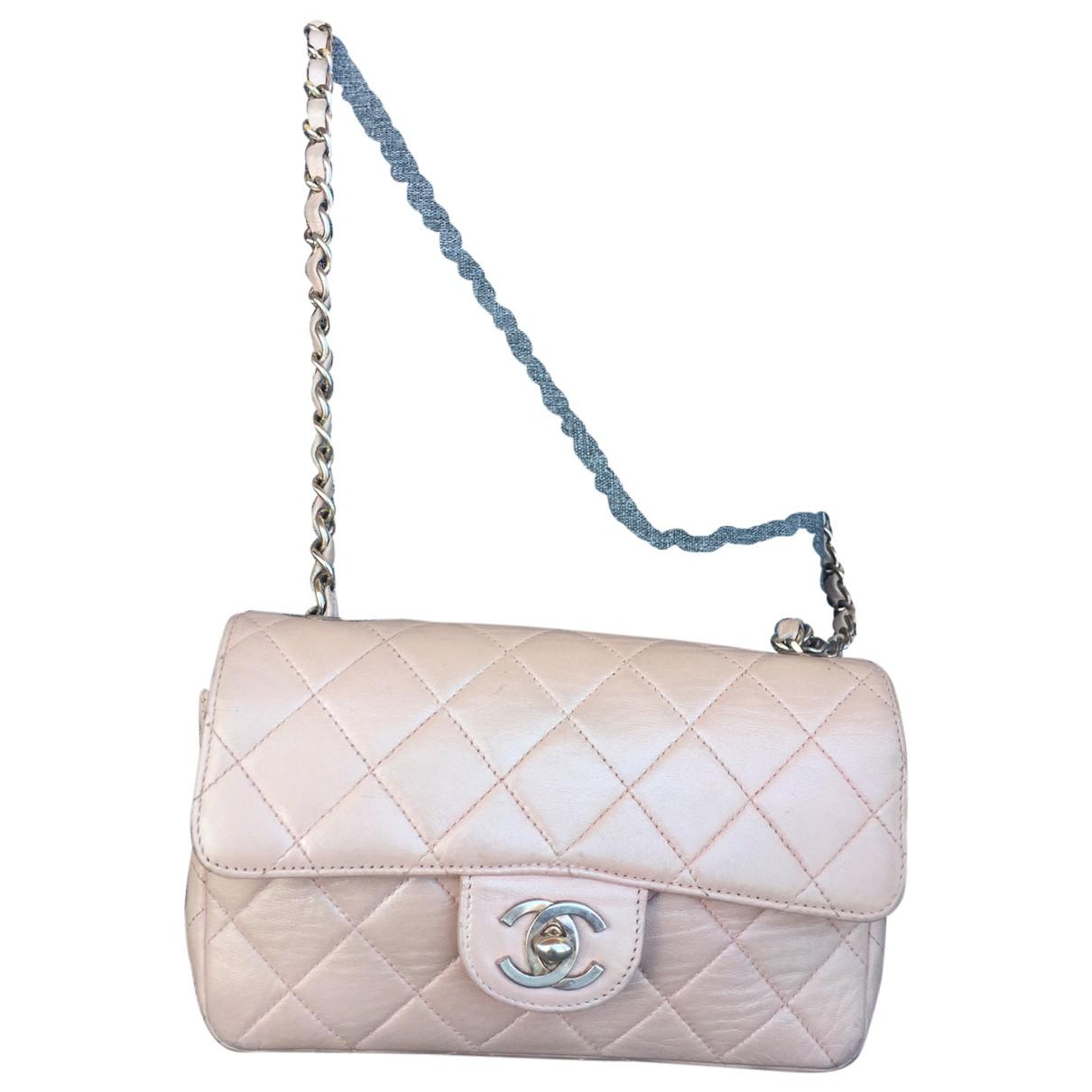 Bolso baguette Timeless/Classique de Cuero Chanel