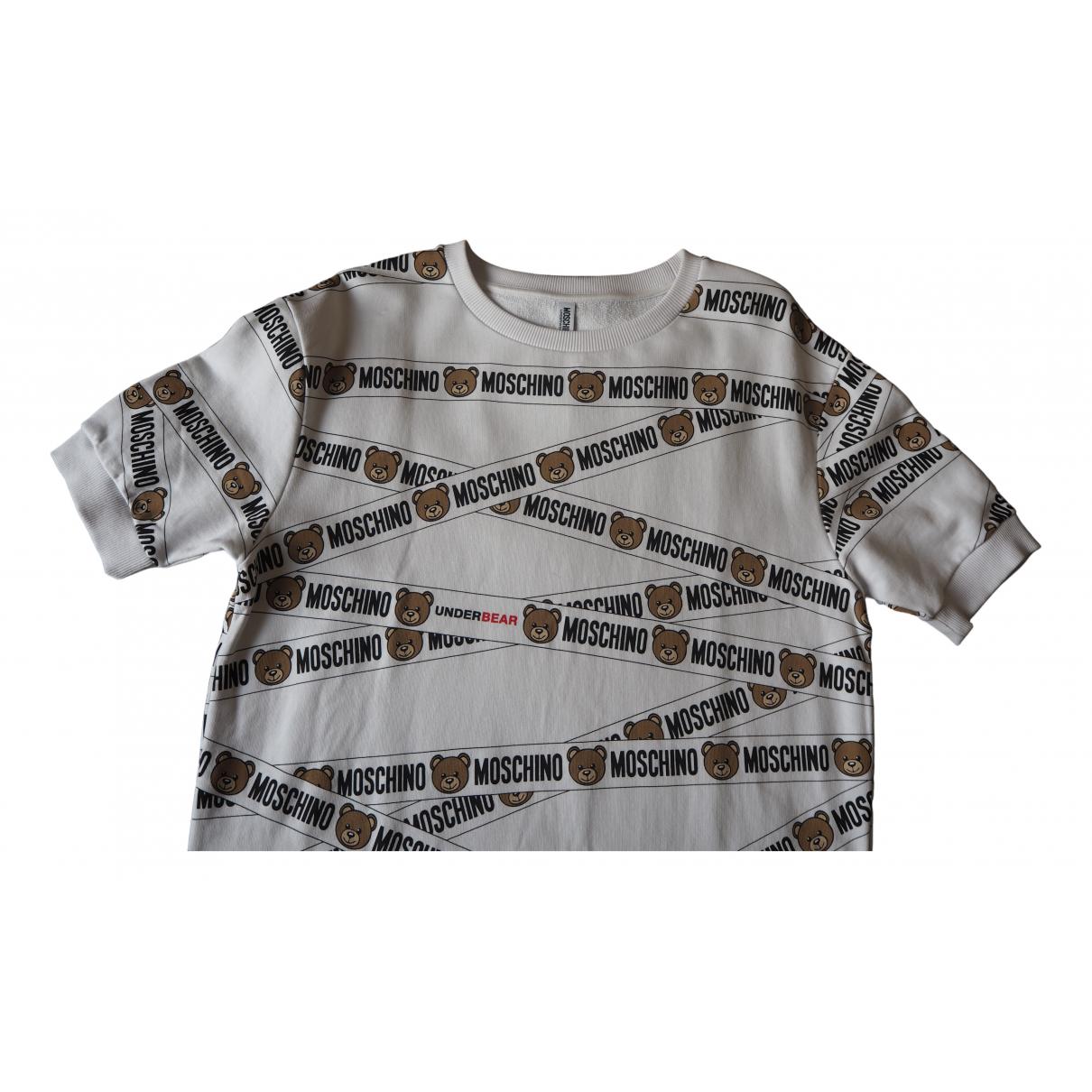 Moschino \N Kleid in  Beige Baumwolle