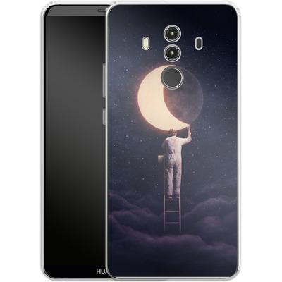 Huawei Mate 10 Pro Silikon Handyhuelle - Carpe Noctem Wide von Enkel Dika