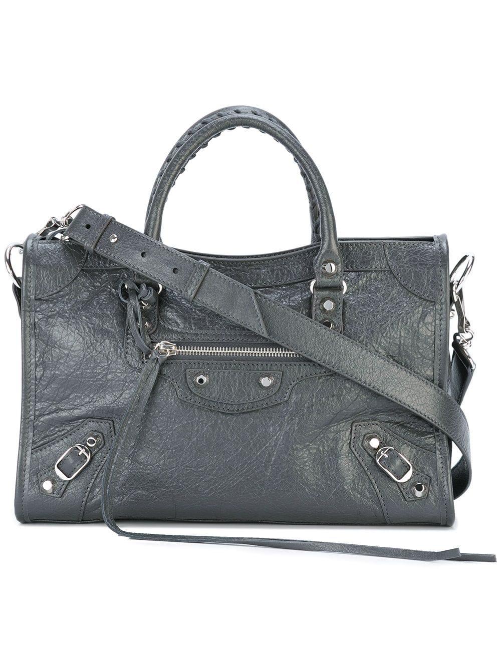 City Small Leather Handbag