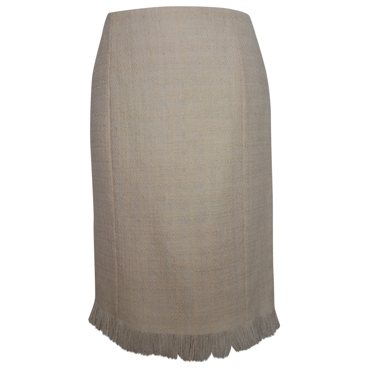 Versace \N Rocke in  Ecru Wolle
