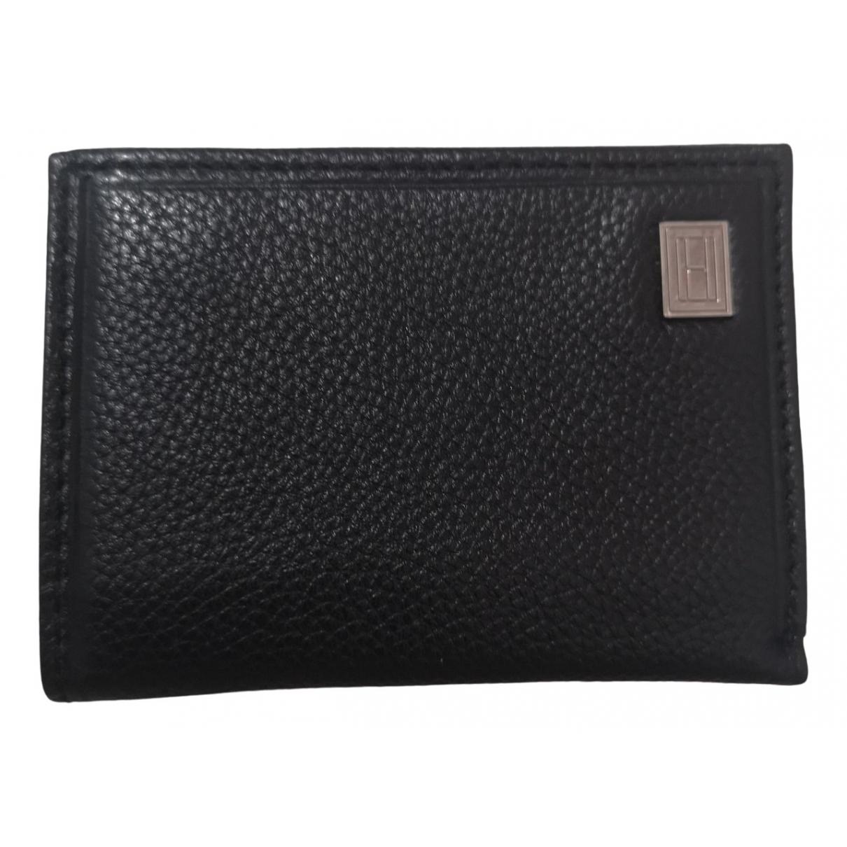 Tommy Hilfiger \N Brown Leather Small bag, wallet & cases for Men \N