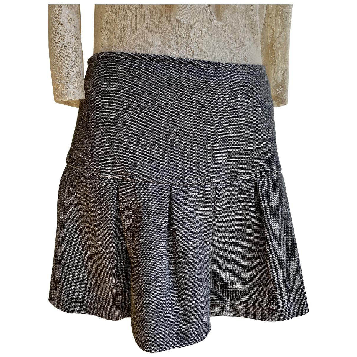 Set - Jupe   pour femme en coton - gris