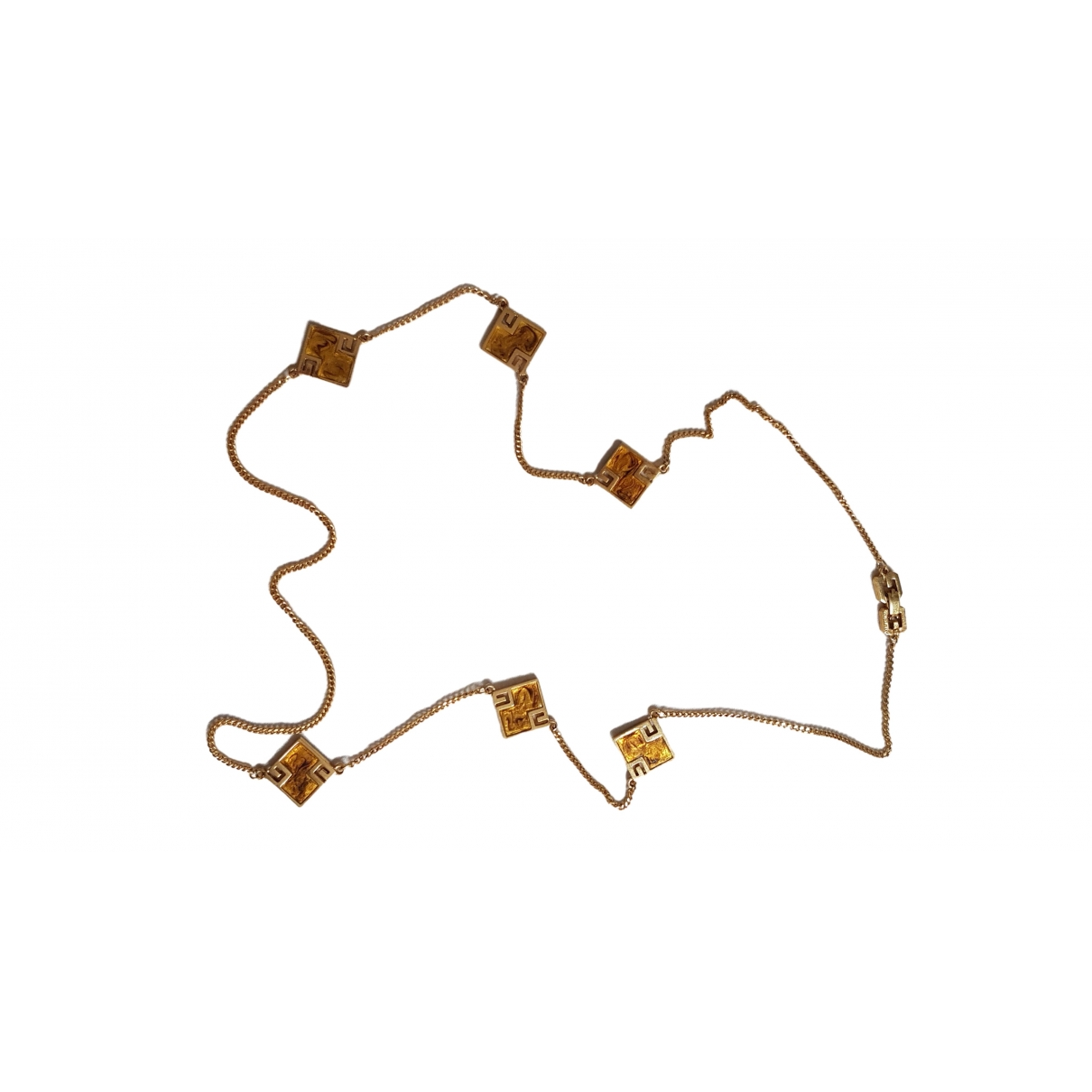 Givenchy \N Gold Steel necklace for Women \N
