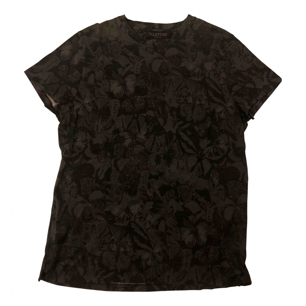Valentino Garavani N Black Cotton T-shirts for Men XS International