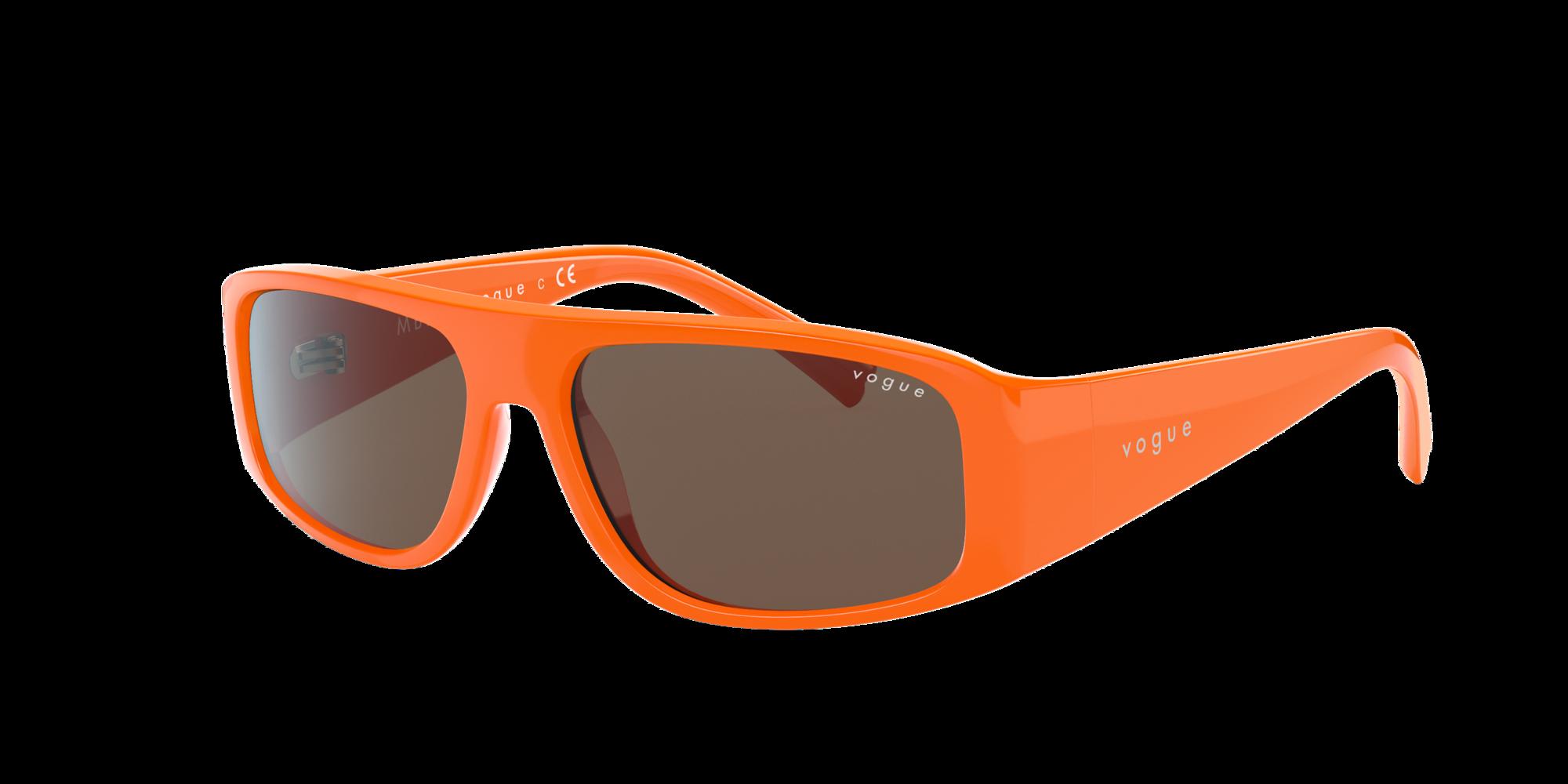 Vogue Eyewear Woman  VO5318S MBB X VOGUE EYEWEAR -  Frame color: Orange, Lens color: Brown