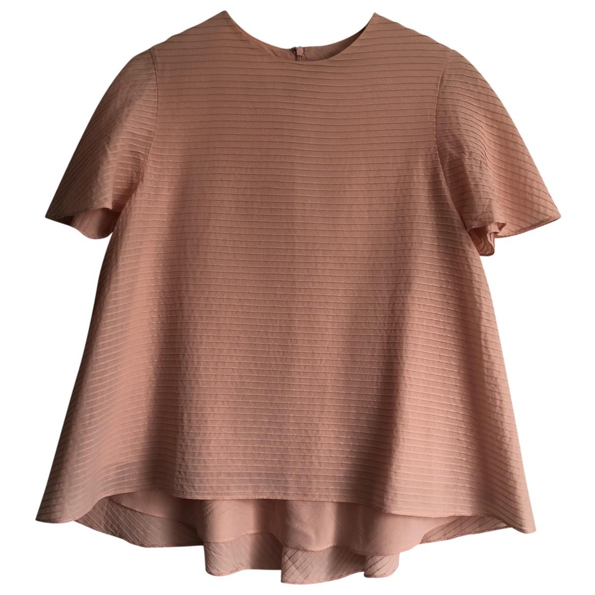 Balenciaga \N Pink Silk  top for Women 38 FR