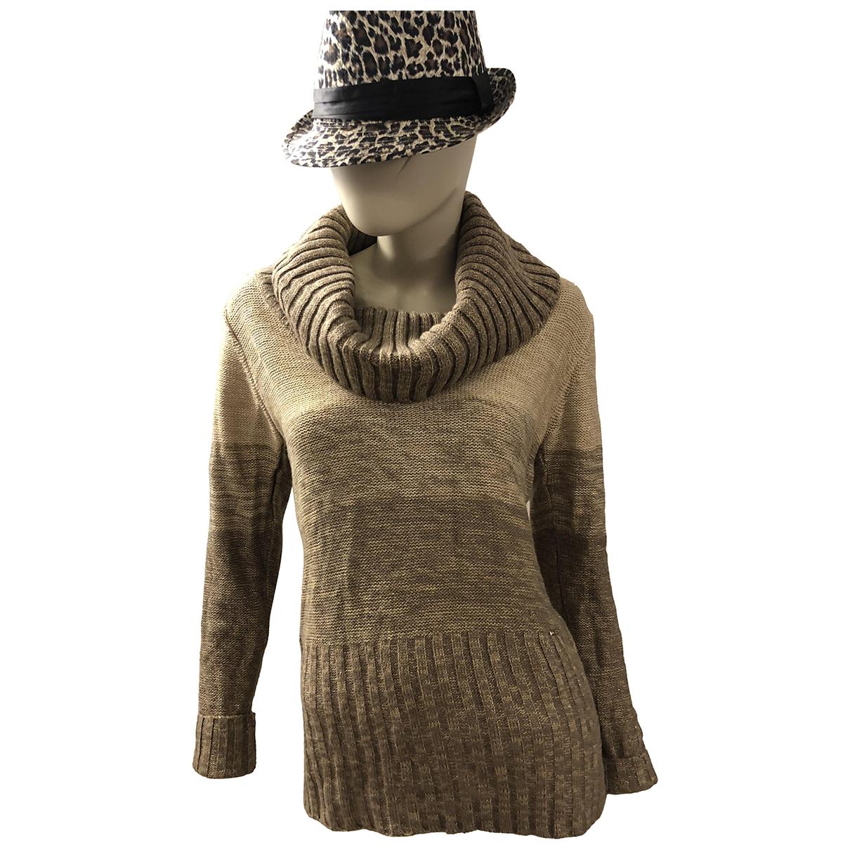 - Pull   pour femme en laine - dore