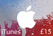 iTunes £15 UK Card