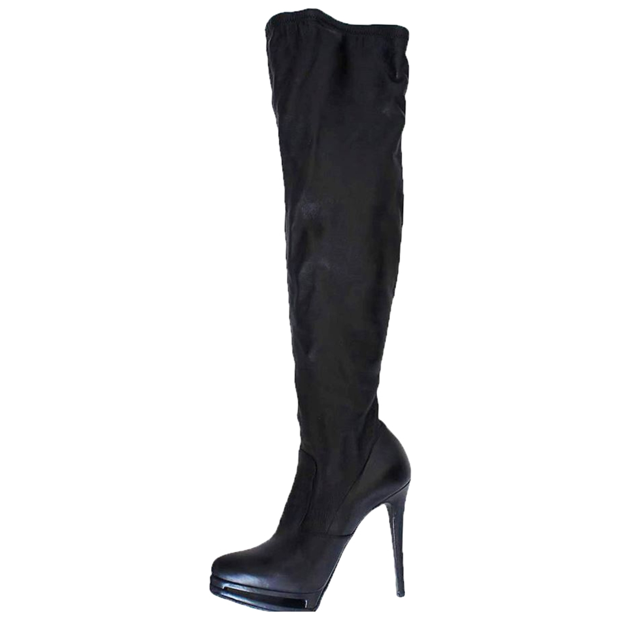 Le Silla \N Leather Boots for Women 35.5 EU