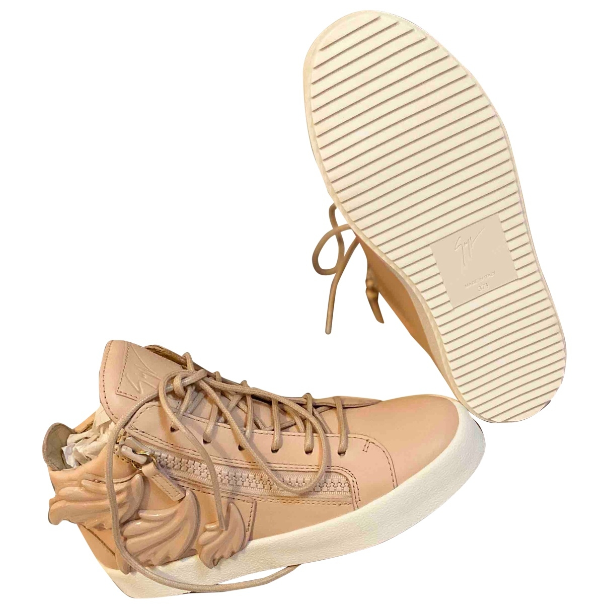 Giuseppe Zanotti - Baskets Donna pour femme en cuir - rose