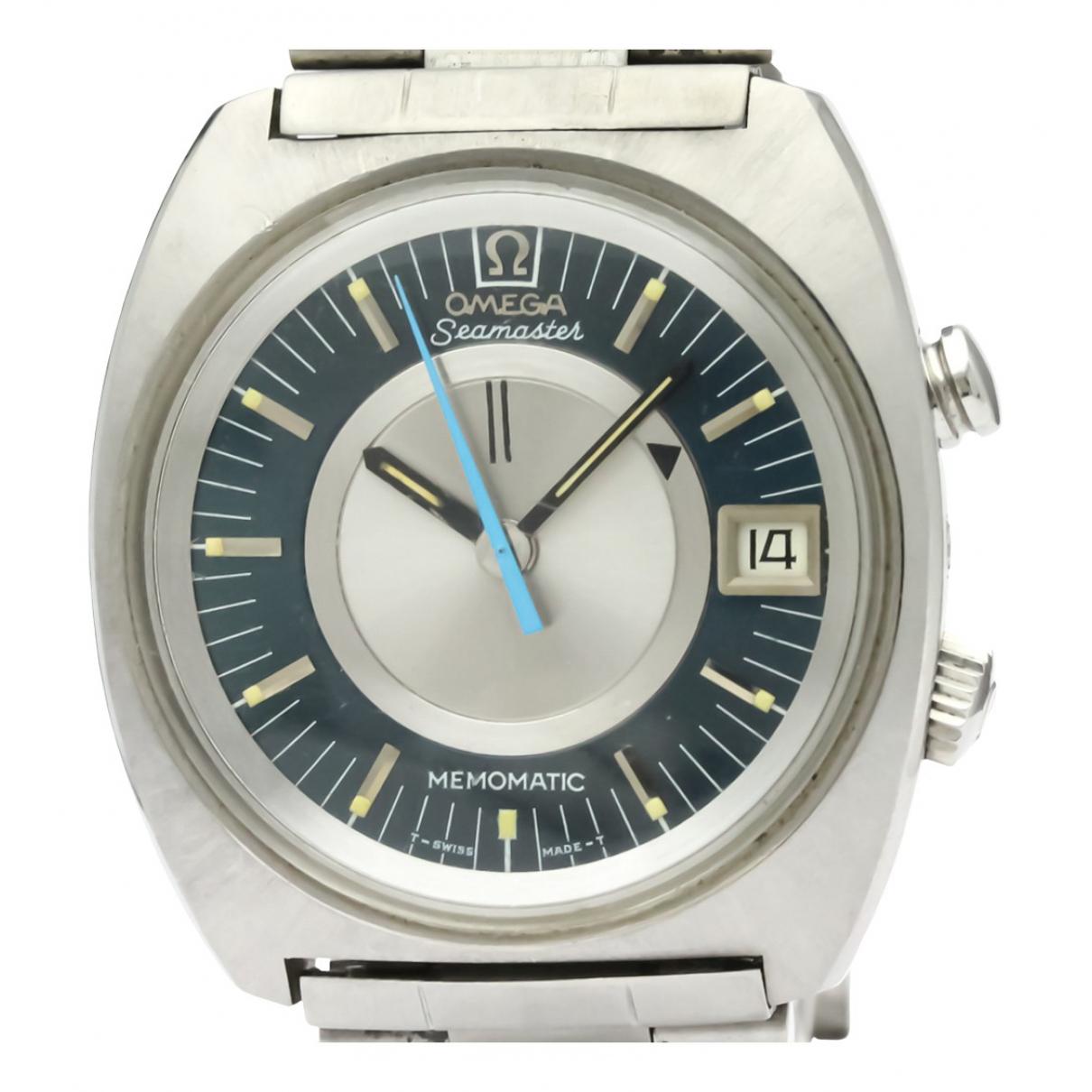 Omega Seamaster Uhr in  Silber Stahl