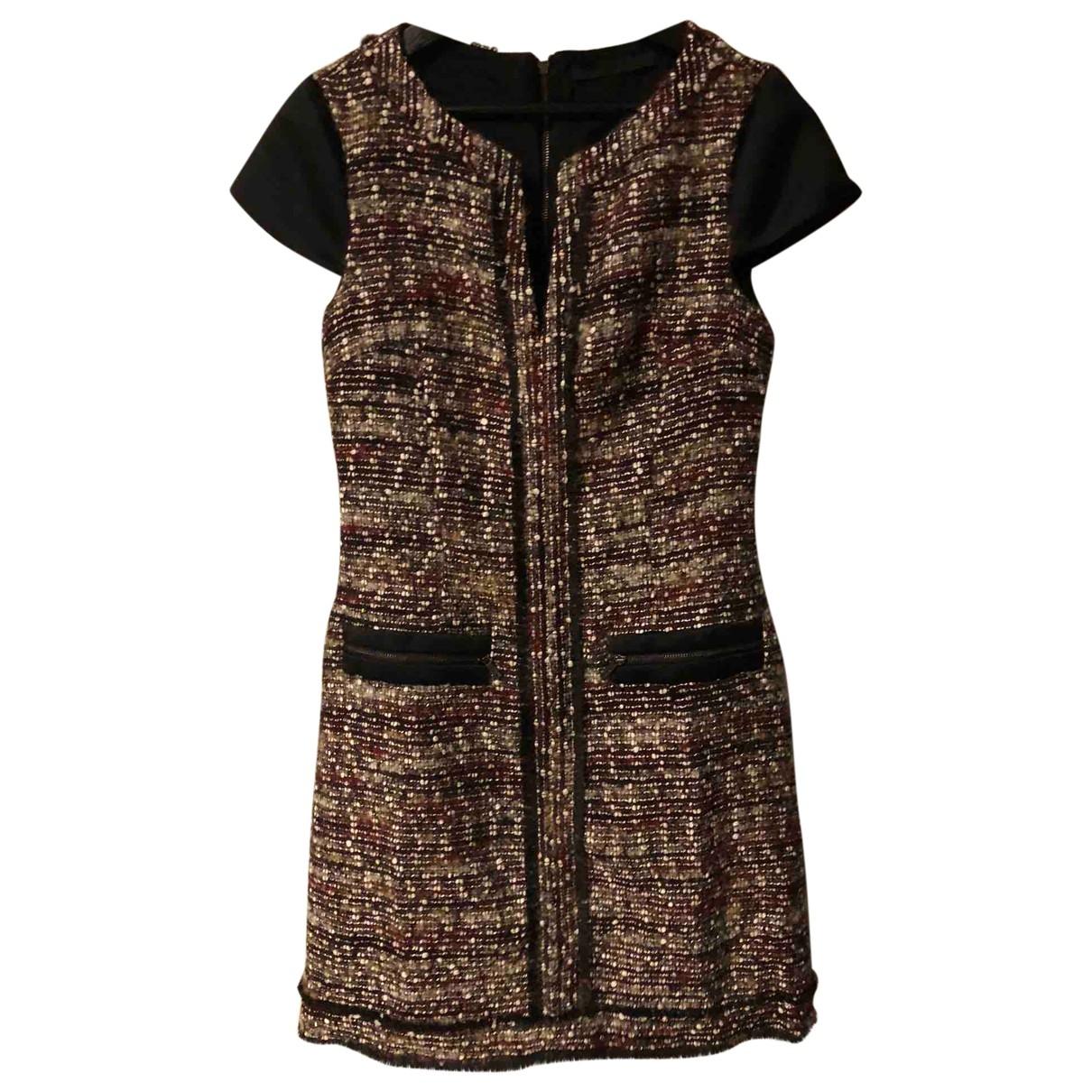 Karl Lagerfeld - Robe   pour femme en tweed - multicolore