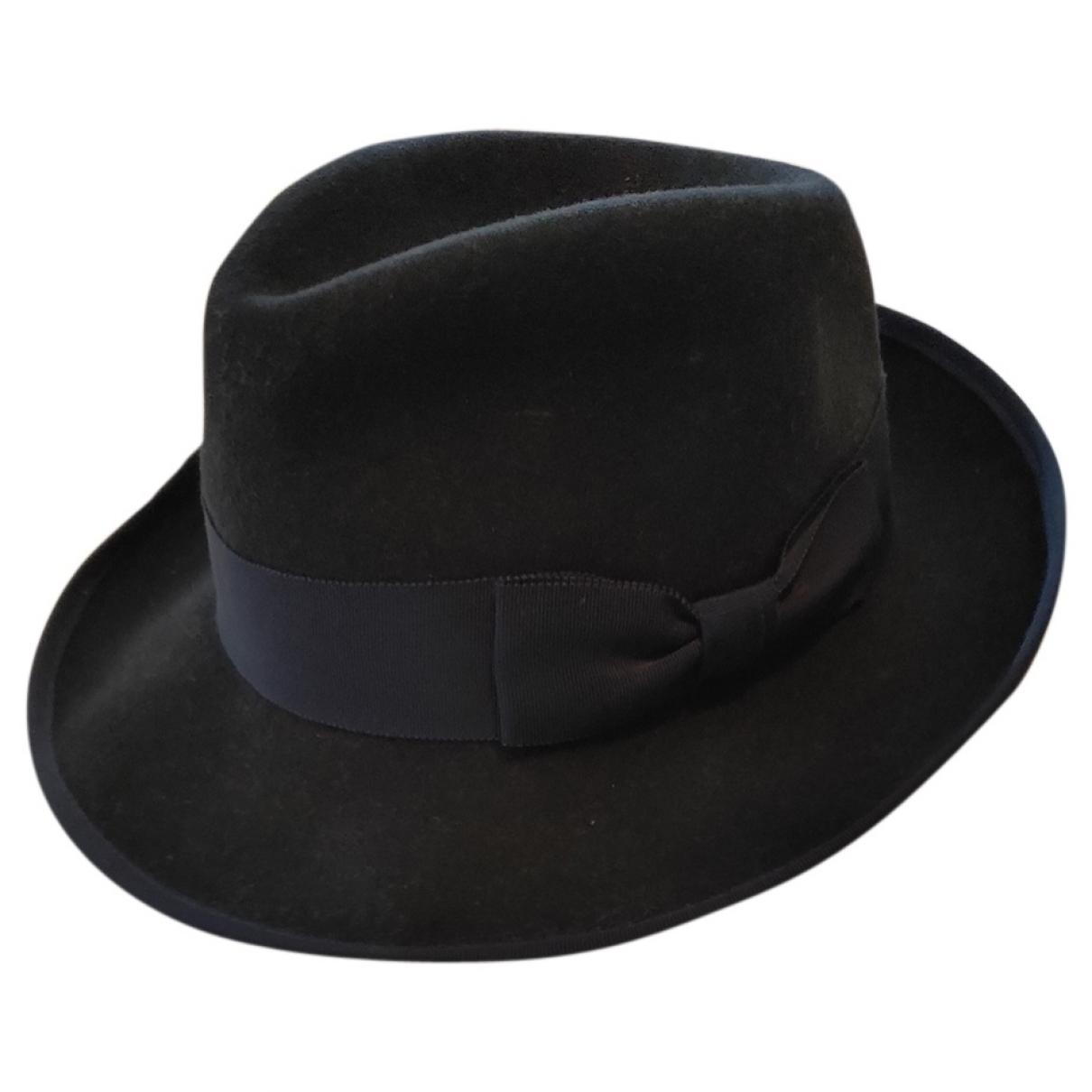 Kangol - Chapeau & Bonnets   pour homme en laine - marine