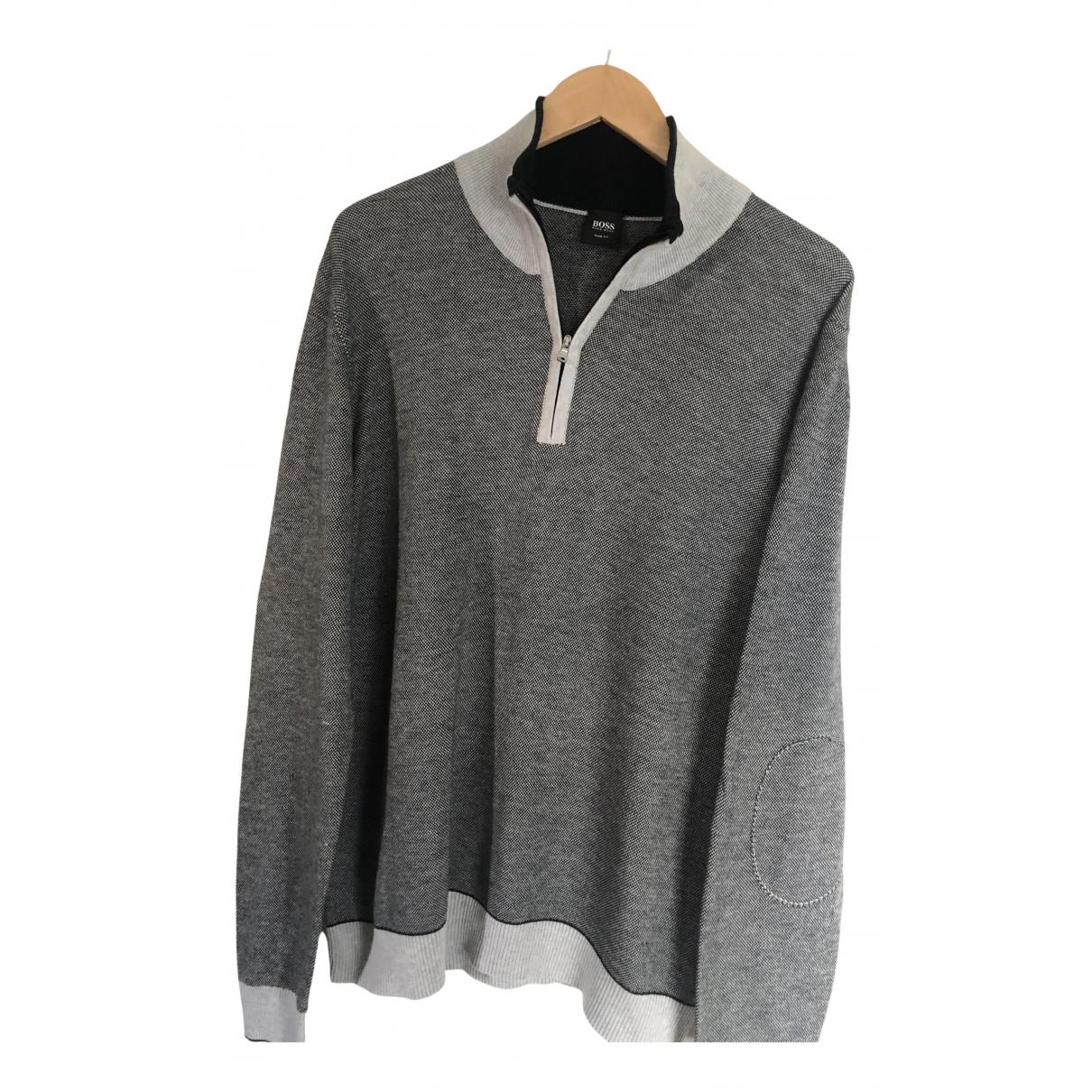 Boss \N Grey Cotton Knitwear & Sweatshirts for Men XXL International