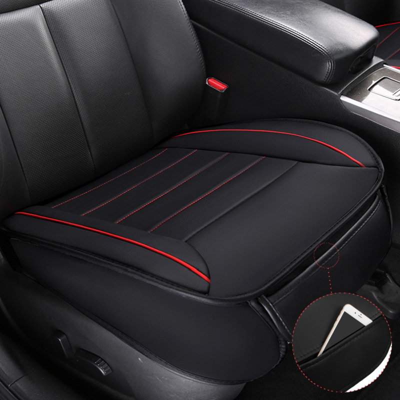 Universal Car Seat Cover Breathable PU Leather Pad Mat Vehicle Chair Cushion 49x52cm