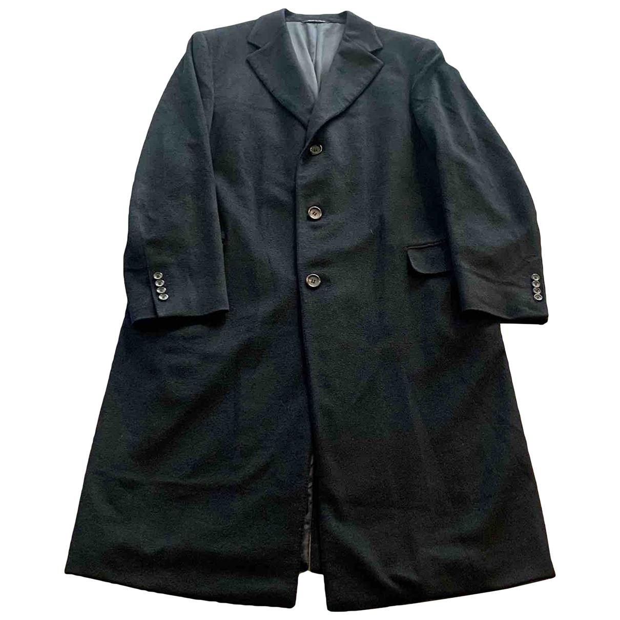 Canali - Manteau   pour homme en cachemire - noir